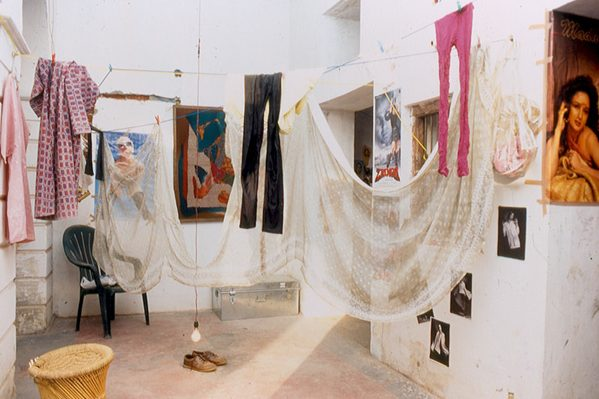 The Fabric Of Society A Textile Art Installation Gopika Nath