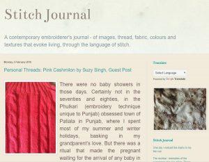 Stitch Journal